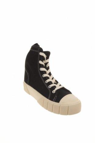 Încălțăminte de damă Zara, Mărime 35, Culoare Negru, Textil, Preț 71,38 Lei