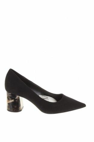 Дамски обувки Zara, Размер 37, Цвят Черен, Текстил, Цена 43,50лв.