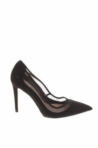Дамски обувки Zara, Размер 37, Цвят Черен, Текстил, Цена 51,75лв.