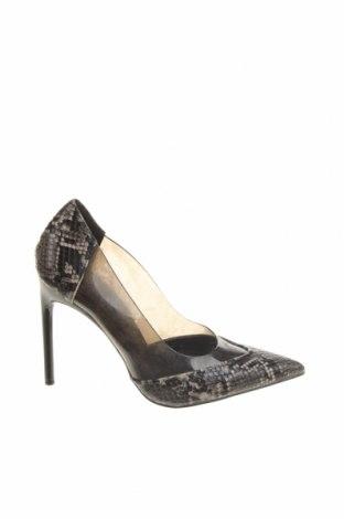 Дамски обувки Zara, Размер 37, Цвят Многоцветен, Еко кожа, полиуретан, Цена 17,25лв.