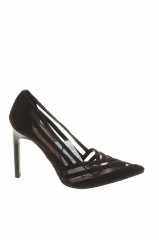 Дамски обувки Zara, Размер 36, Цвят Черен, Текстил, Цена 51,75лв.