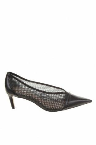 Дамски обувки Zara, Размер 36, Цвят Черен, Еко кожа, Цена 14,75лв.