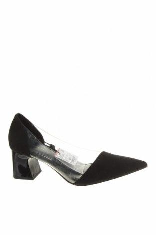 Încălțăminte de damă Zara, Mărime 37, Culoare Negru, Textil, poliuretan, Preț 94,08 Lei