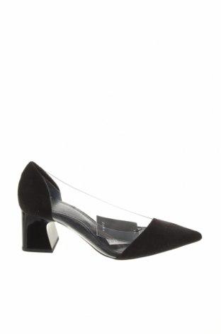 Încălțăminte de damă Zara, Mărime 36, Culoare Negru, Textil, poliuretan, Preț 87,34 Lei