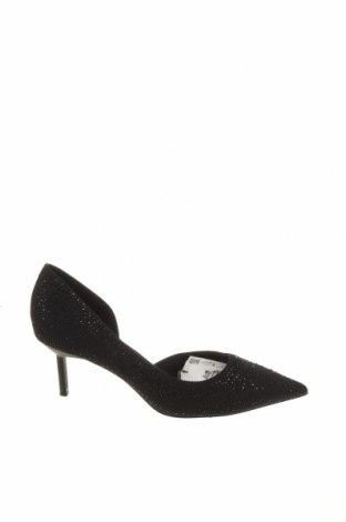 Γυναικεία παπούτσια Zara, Μέγεθος 36, Χρώμα Μαύρο, Κλωστοϋφαντουργικά προϊόντα, Τιμή 6,76€