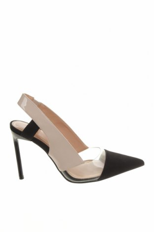 Дамски обувки Zara, Размер 36, Цвят Многоцветен, Текстил, полиуретан, Цена 51,75лв.