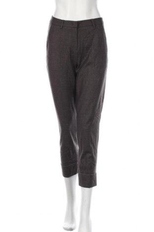 Дамски панталон Cambio, Размер S, Цвят Сив, 90% вълна, 7% полиамид, 3% еластан, Цена 40,16лв.