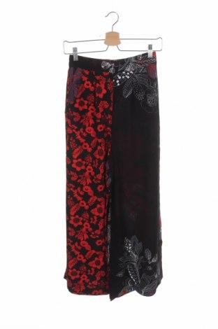 Дамски панталон Desigual, Размер XS, Цвят Многоцветен, Вискоза, Цена 37,25лв.