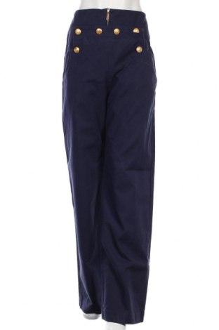Dámské kalhoty  Kenzo, Velikost M, Barva Modrá, Bavlna, Cena  2057,00Kč