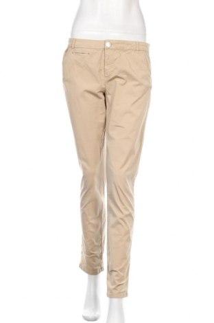 Γυναικείο παντελόνι Massimo Dutti, Μέγεθος M, Χρώμα  Μπέζ, 96% βαμβάκι, 4% ελαστάνη, Τιμή 19,49€