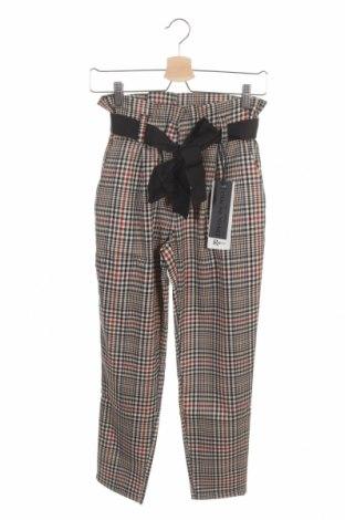 Pantaloni de femei Rinascimento, Mărime XS, Culoare Multicolor, 80% poliester, 15% viscoză, 5% elastan, Preț 176,15 Lei