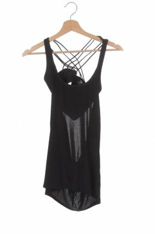 Dámské tilko  H&M Sport, Velikost XS, Barva Černá, 93% polyester, 7% elastan, Cena  239,00Kč