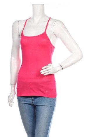 Dámské tilko  Nike, Velikost S, Barva Růžová, 55% bavlna, 45% polyester, Cena  383,00Kč