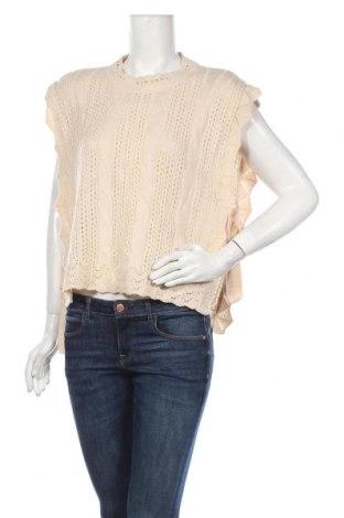 Pulover de femei, Mărime M, Culoare Bej, Preț 73,28 Lei