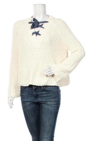 Дамски пуловер Aerie, Размер M, Цвят Бял, 60% памук, 40% акрил, Цена 12,29лв.