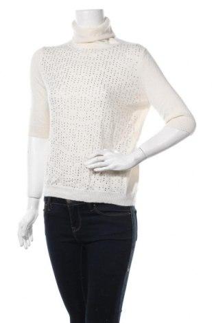 Дамски пуловер Allude, Размер M, Цвят Екрю, Кашмир, Цена 138,60лв.