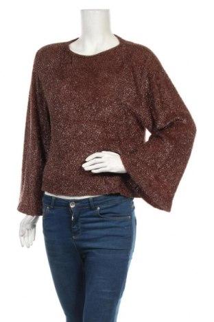 Дамски пуловер Alysi, Размер L, Цвят Кафяв, Полиамид, Цена 30,71лв.