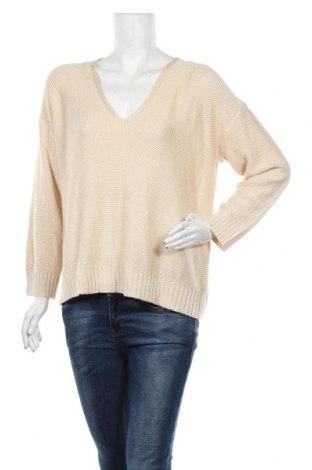 Дамски пуловер Brave Soul, Размер M, Цвят Бежов, Акрил, Цена 8,19лв.
