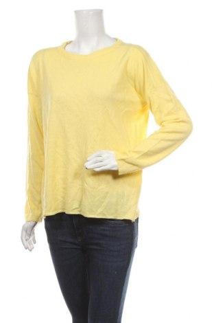 Дамски пуловер Brave Soul, Размер M, Цвят Жълт, Акрил, Цена 7,56лв.