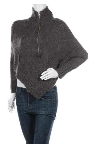 Дамски пуловер Buffalo, Размер S, Цвят Сив, 80% акрил, 20% вълна от алпака, Цена 26,93лв.