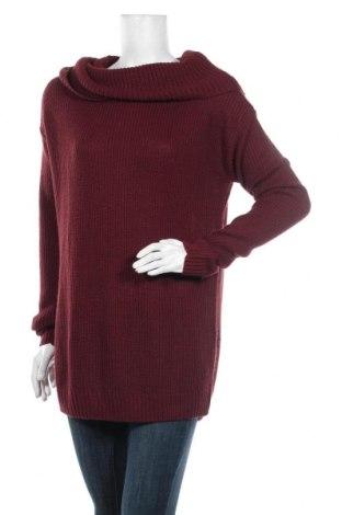 Дамски пуловер Colours Of The World, Размер XL, Цвят Червен, Акрил, Цена 23,63лв.