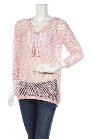 Дамски пуловер Colours Of The World, Размер M, Цвят Розов, 55% полиестер, 45% акрил, Цена 11,39лв.