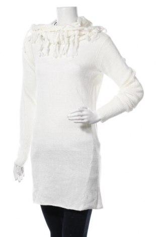 Дамски пуловер Colours Of The World, Размер M, Цвят Бял, Акрил, Цена 24,99лв.