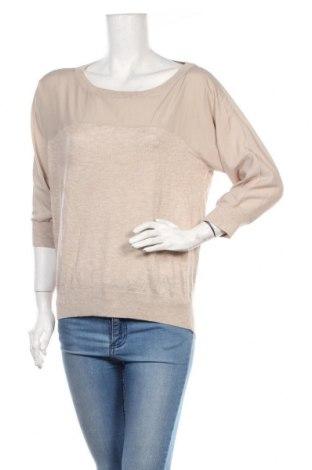 Дамски пуловер Esprit, Размер M, Цвят Бежов, Цена 30,45лв.