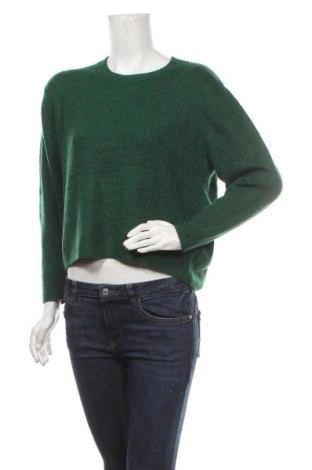 Γυναικείο πουλόβερ H&M, Μέγεθος S, Χρώμα Πράσινο, 52%ακρυλικό, 27% πολυαμίδη, 11% πολυεστέρας, 7% ελαστάνη, Τιμή 6,37€