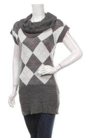 Дамски пуловер Jennifer Taylor, Размер XL, Цвят Сив, Акрил, Цена 26,46лв.