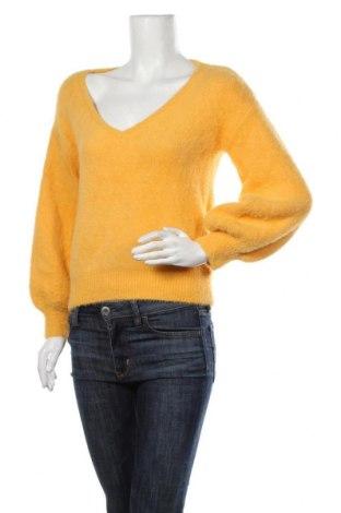 Pulover de femei ONLY, Mărime M, Culoare Galben, 90% poliamidă, 10%acril, Preț 92,84 Lei