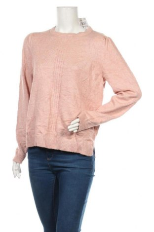 Дамски пуловер Ofelia, Размер L, Цвят Розов, 52% вискоза, 26% полиестер, 22% полиамид, Цена 6,32лв.