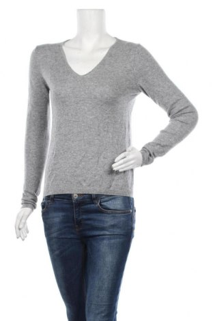 Дамски пуловер Part Two, Размер S, Цвят Сив, Кашмир, Цена 37,49лв.