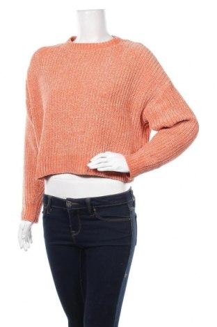 Дамски пуловер Pimkie, Размер S, Цвят Оранжев, Полиестер, Цена 27,30лв.