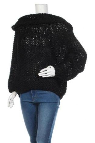 Γυναικείο πουλόβερ Red Queen, Μέγεθος M, Χρώμα Μαύρο, 65%ακρυλικό, 20% βαμβάκι, 15% πολυεστέρας, Τιμή 7,96€