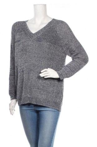 Дамски пуловер Soaked In Luxury, Размер M, Цвят Син, 55% акрил, 27% памук, 18% полиамид, Цена 22,68лв.