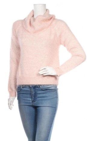 Dámský svetr Tally Weijl, Velikost L, Barva Růžová, 53%acryl, 47% polyamide, Cena  300,00Kč