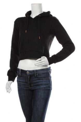 Дамски суичър MyMO, Размер S, Цвят Черен, 65% полиестер, 35% памук, Цена 28,32лв.