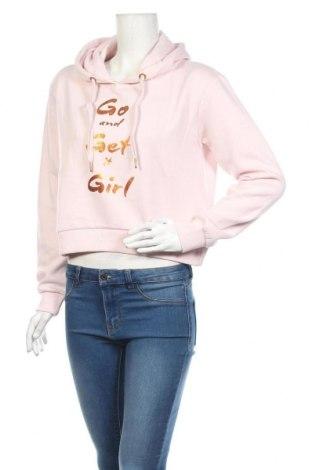 Дамски суичър MyMO, Размер L, Цвят Розов, 65% памук, 35% полиестер, Цена 27,84лв.