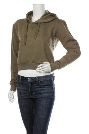 Дамски суичър MyMO, Размер M, Цвят Зелен, 65% полиестер, 35% памук, Цена 28,32лв.