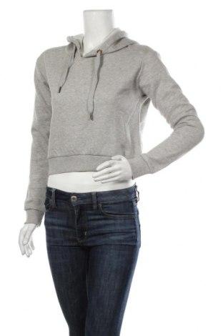 Дамски суичър MyMO, Размер S, Цвят Сив, 65% памук, 35% полиестер, Цена 24,96лв.