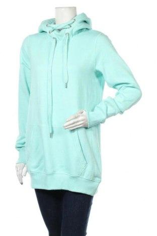 Γυναικείο φούτερ MyMO, Μέγεθος L, Χρώμα Πράσινο, 65% πολυεστέρας, 35% βαμβάκι, Τιμή 11,03€