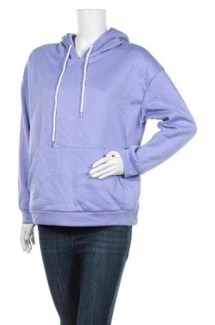 Дамски суичър SHEIN, Размер M, Цвят Лилав, 50% памук, 50% полиестер, Цена 9,66лв.
