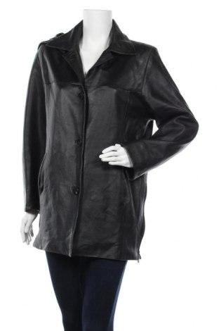 Дамско кожено яке Azzaro, Размер M, Цвят Черен, Естествена кожа, Цена 93,45лв.