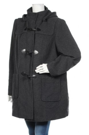 Дамско палто Atelier GARDEUR, Размер XXL, Цвят Сив, 60% вълна, 25% полиестер, 10% полиамид, 5% други нишки, Цена 108,89лв.