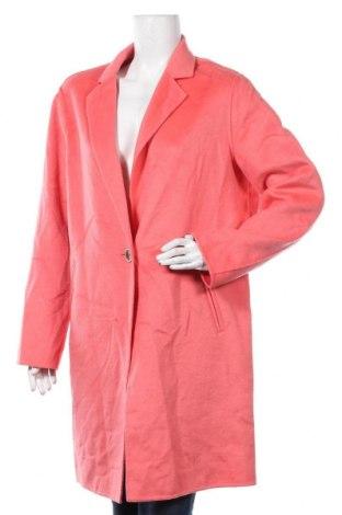 Дамско палто Comma,, Размер XL, Цвят Розов, 45% вълна, 40% полиестер, 15% вискоза, Цена 181,35лв.