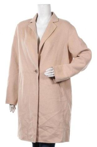 Дамско палто Comma,, Размер XL, Цвят Бежов, 45% вълна, 40% полиестер, 15% вискоза, Цена 174,85лв.
