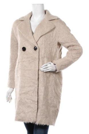 Дамско палто Comma,, Размер M, Цвят Бежов, 32% вълна от алпака, 22% полиакрил, 22% вълна, 13% полиестер, 11% полиамид, Цена 247,00лв.