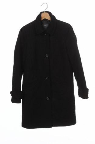 Palton de femei Esprit, Mărime XS, Culoare Negru, 75% lână, 25% poliamidă, Preț 271,89 Lei