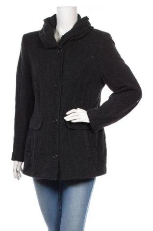 Дамско палто Gelco, Размер M, Цвят Сив, 70% вълна, 20% полиамид, 10% кашмир, Цена 13,77лв.